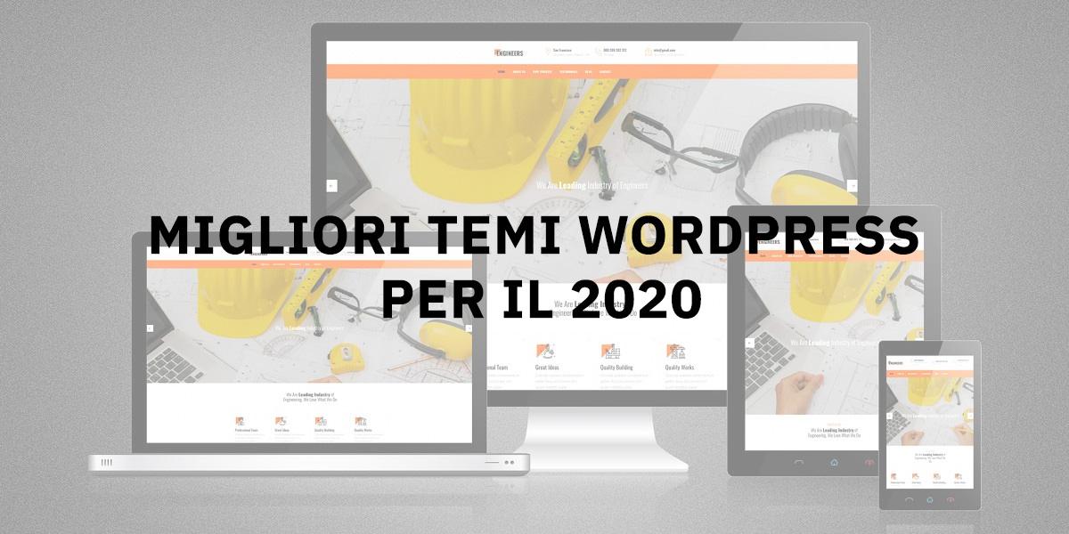 Migliori temi WordPress per il 2020
